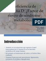 Deficiencia de Vitamina D (1)