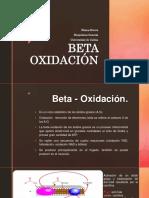 Beta Oxidación Prese