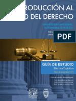 Introduccion Al Estudio Del Derecho Guia