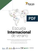 OCT PROGRAMAEscuela Internacional de Verano - Innovacion Social VF