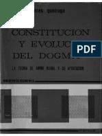 A. Torres Queiruga, Constitucion y Evolucion Del Dogma. La Teoría de Amor Ruibal y Su Aportanción