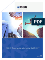Be York Industrial Commercial Hvac 2017