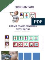 Morfosintaxis Forma Frases Sencillas Verbos Básicos Bhc.ppsx