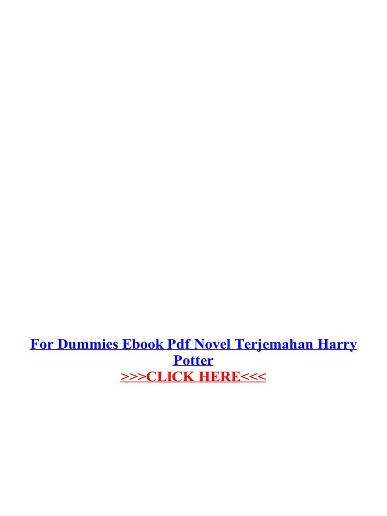 Novel Harry Potter Bahasa Indonesia Pdf Lengkap