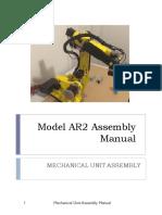 Manual - AR2 Robot Arm Assembly