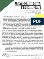 Stop Gordofobia Magdalena Piñeyro