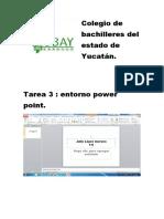 Tarea 3 Entorno Powerpoint.
