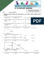Soal Matematika Kelas 6 SD Bab 3 Luas Dan Volume Dan Kunci Jawaban (Www.bimbelbrilian.com)