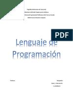 Lenguaje de Programación 3