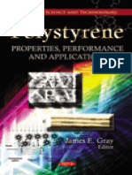 Polystyrene - Properties, Performance, And Applications - James E. Gray (Nova, 2011)