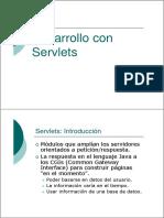 Desarrollo Con Servlets