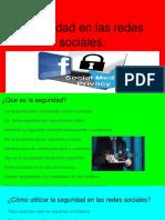 Seguridad en Las Redes Sociales.