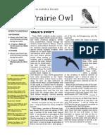 Aug-Sept-Oct 2009 Prairie Owl Newsletter Palouse Audubon Society