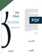 DELEUZE-Gilles.-Bergsonismo1.pdf
