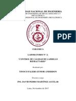 Informe 2 CERÁMICA 2017