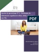 Apunte de aprendizaje Módulo 6- Estrategias de intervención cognitiva en niños, niñas y jóvenes con TEL.pdf