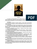 Click Professor Sherlock Holmes