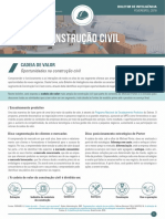 Cadeia de Valor Da Construção Civil Sebrae