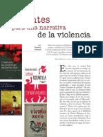 Apuntes Para Una Narrativa de La Violencia
