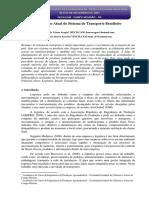 Artigo_A Situação Atual Do Sistema de Transporte Brasileiro