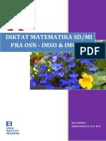 Diktat Matematika Osn Sd Bagian Pertama
