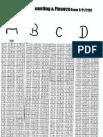 Seating Plan for ACF