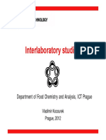 Interlab Study 2012
