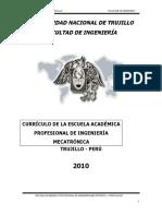 Curriculum Mecatronica -2010