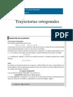 TRAYECTORIAS ORTOGONALES CON MATHEMATICA