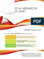 BAB 2. Analytical Hierarchy Process (AHP)