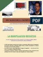 Las Tecnicas de Manipulacion Mediatica