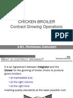 Broiler Contract Growing Executive Summary