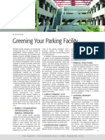 Parker Magazine, Greening Your Parking - April 2010 - Canadian Parking Association