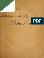 La Dama de Las Camelias Dumas Hijo Obra de Teatro