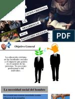 La Educacion Cristiana y El Desarrollo de Las.ppt