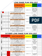 kindergarten long range plan 2016-17