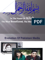 Evolution of Media in Pakistan