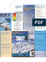 Avalanche Safety Brochure