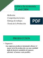 Funcion de Produccion