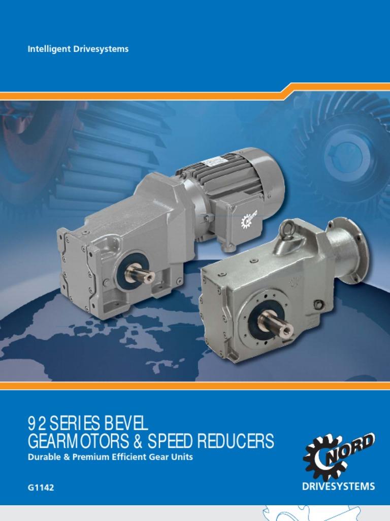 g1142_us_0310.pdf | Gear | Electric Motor