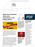Reluctant Islamists_ Rules and Incentives in the Malay World – Kyoto Review of Southeast Asia