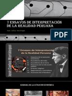 7 ENSAYOS DE INTERPRETACIÓN DE LA REALIDAD PERUANA.pptx