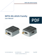 Mtx 3g Java Manual