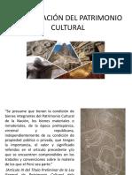 Clasificación Del Patrimonio Cultural