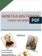Genc3a9tica Bacteriana 2013 Med