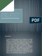 001-Calidad y Tratamiento Del Agua (Resumen)
