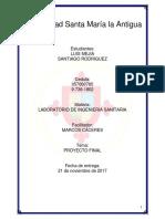 Desinfeccion Con Sales de Cloro - Proyecto Final 2017