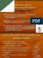 (11) Dosimetria de La Contaminaciòn Interna