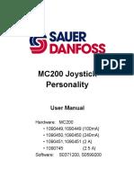 MC200 SAUR DANFOSS