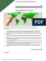 ¿Cuál Es El País Más Emprendedor de América Latina?
